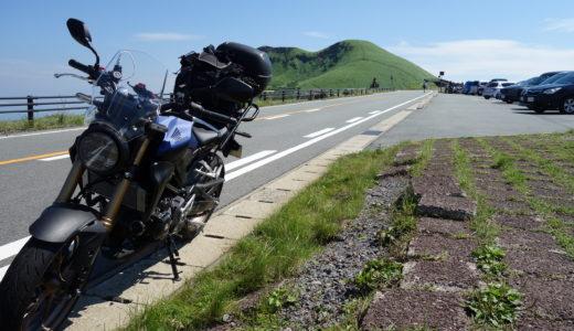 阿蘇山ツーリング|バイク乗りの巨大テーマパーク