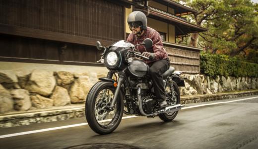 ネオクラシックバイクは革ジャンが似合う現代バイク